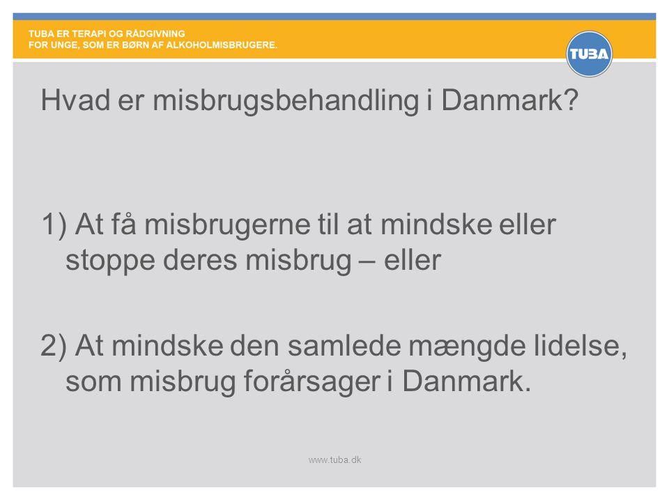 Hvad er misbrugsbehandling i Danmark