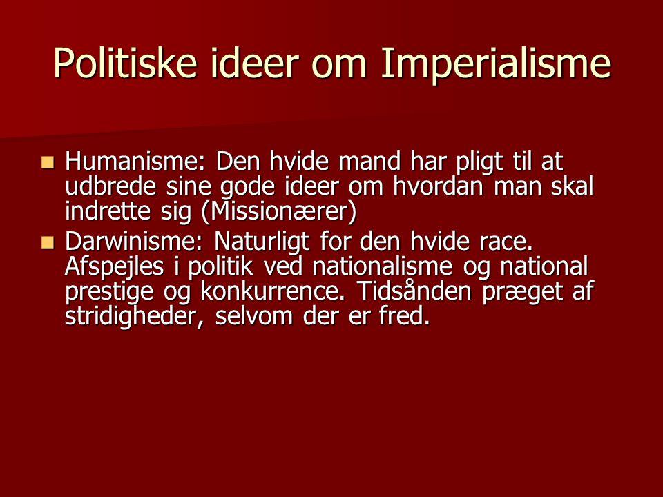 Politiske ideer om Imperialisme
