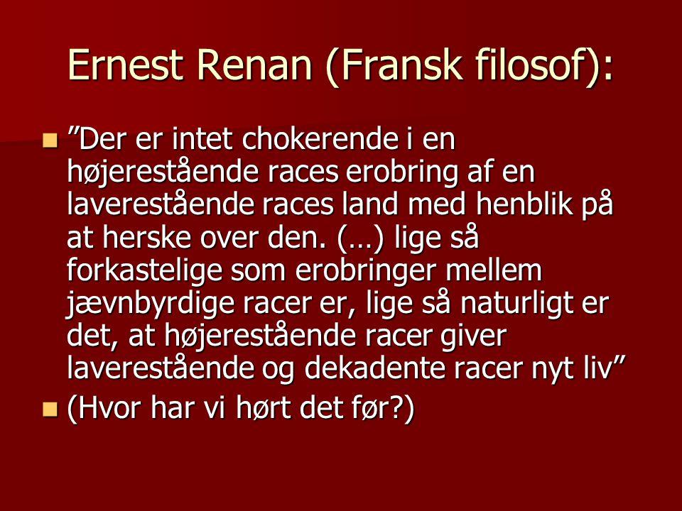 Ernest Renan (Fransk filosof):
