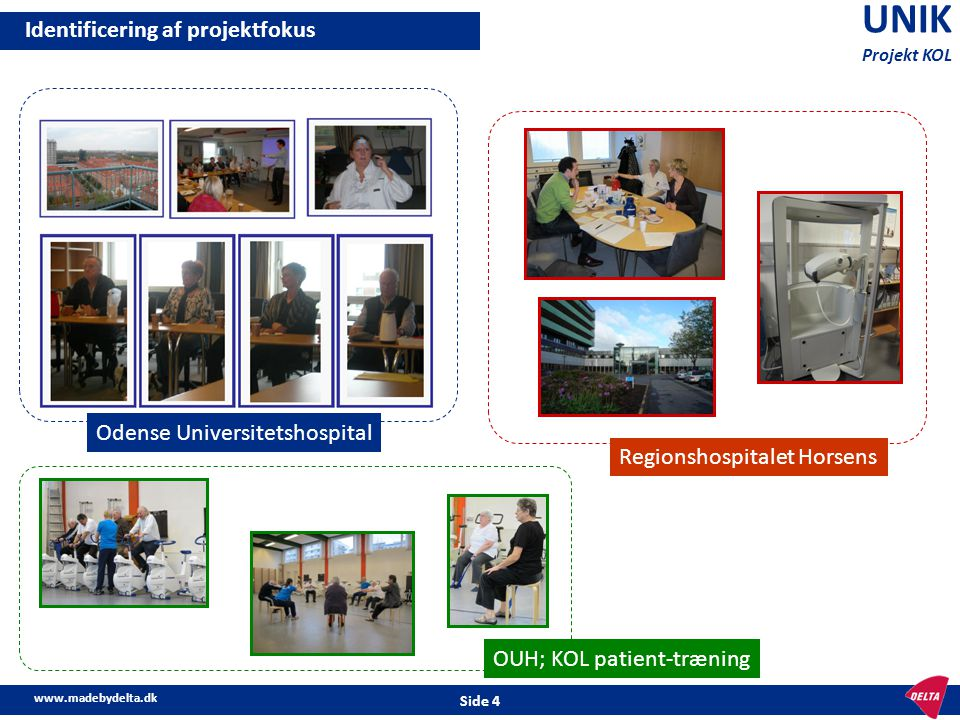 UNIK Identificering af projektfokus Odense Universitetshospital