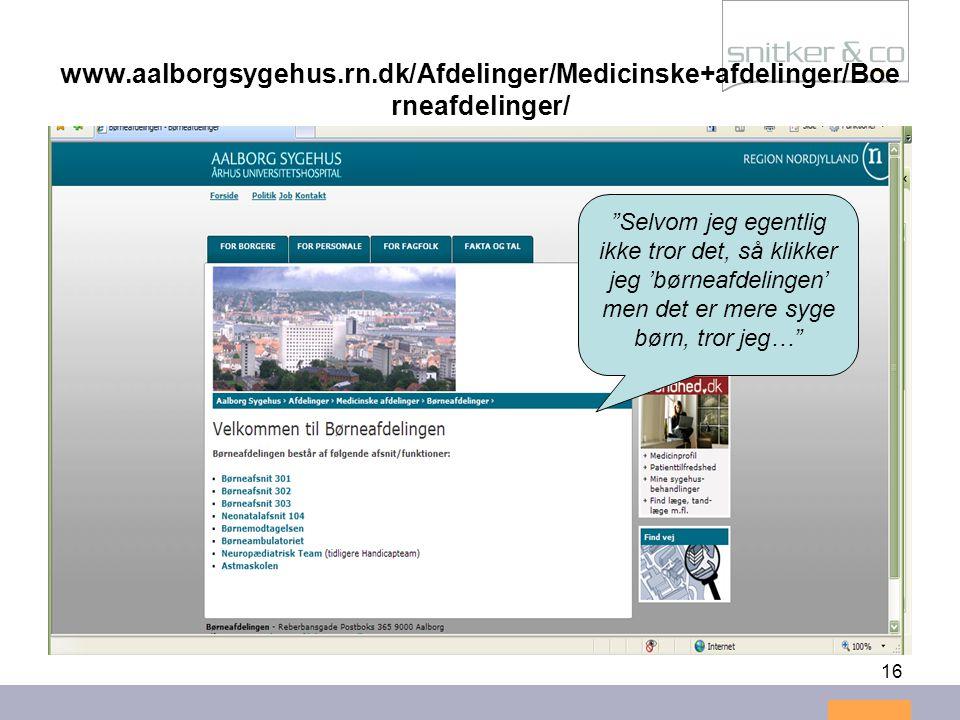 www.aalborgsygehus.rn.dk/Afdelinger/Medicinske+afdelinger/Boerneafdelinger/