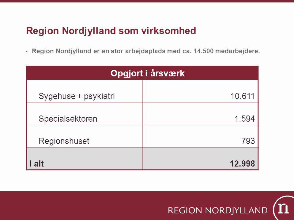 Region Nordjylland som virksomhed
