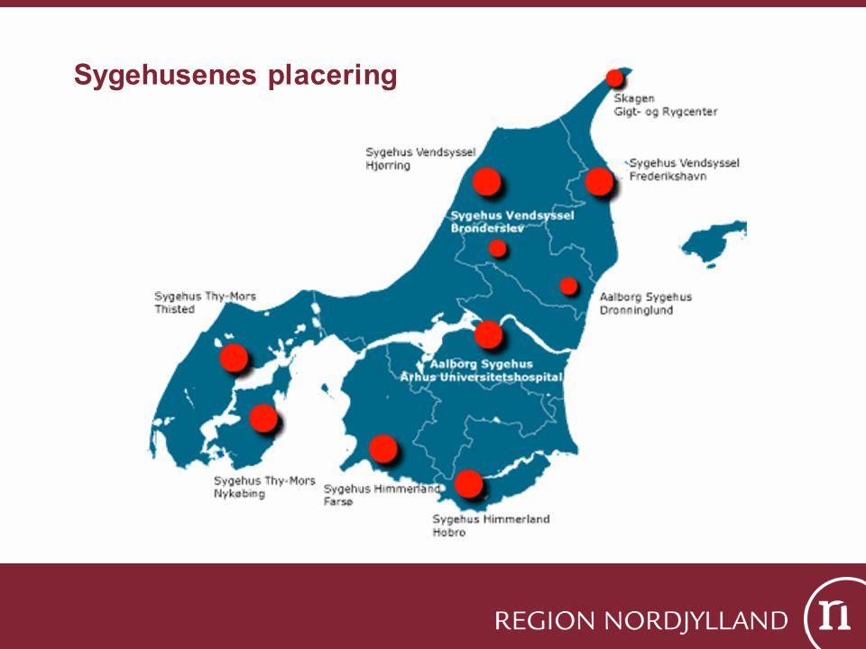 Sygehusenes placering
