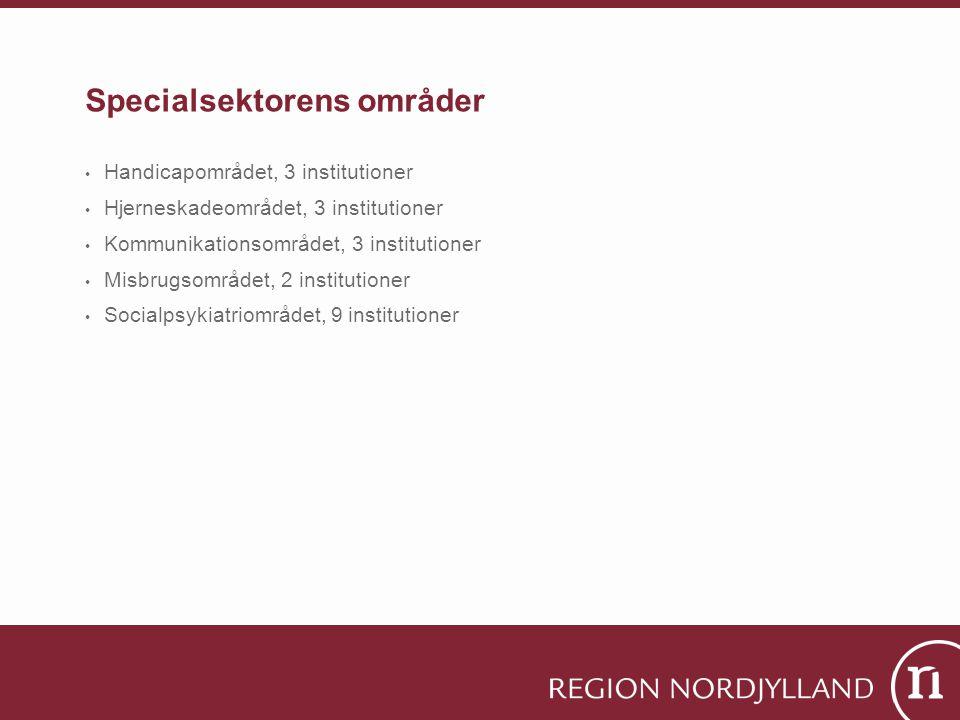 Specialsektorens områder