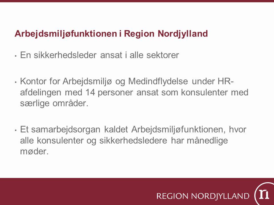 Arbejdsmiljøfunktionen i Region Nordjylland