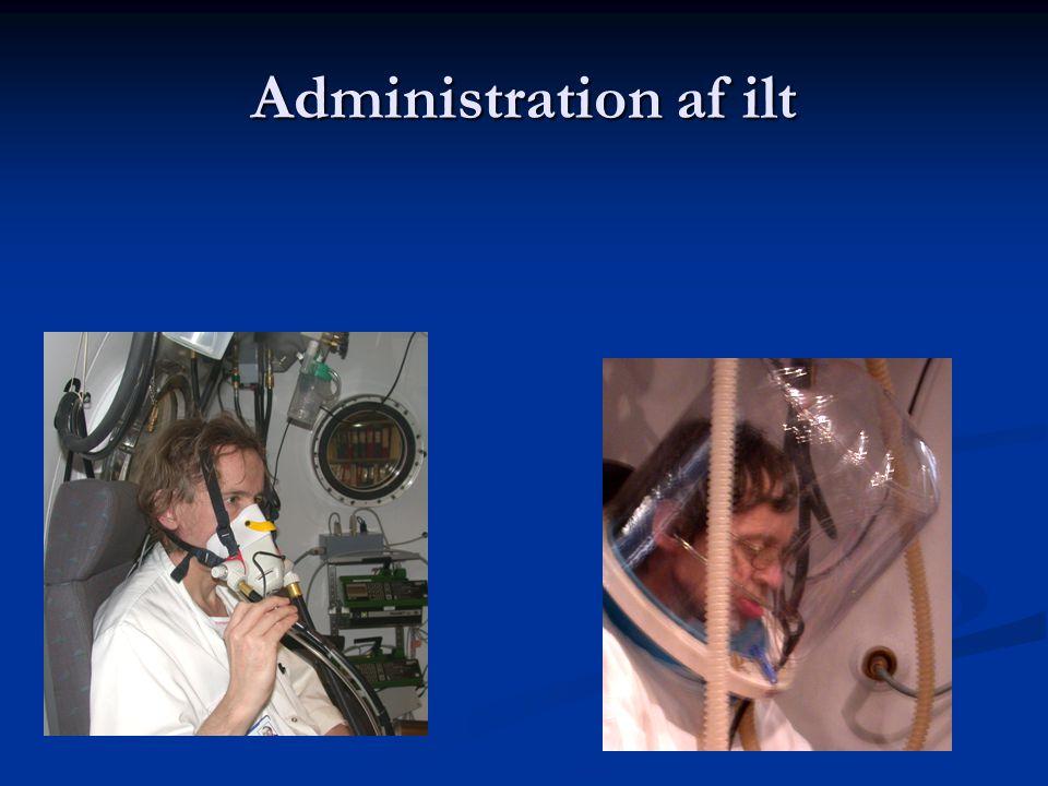 Administration af ilt