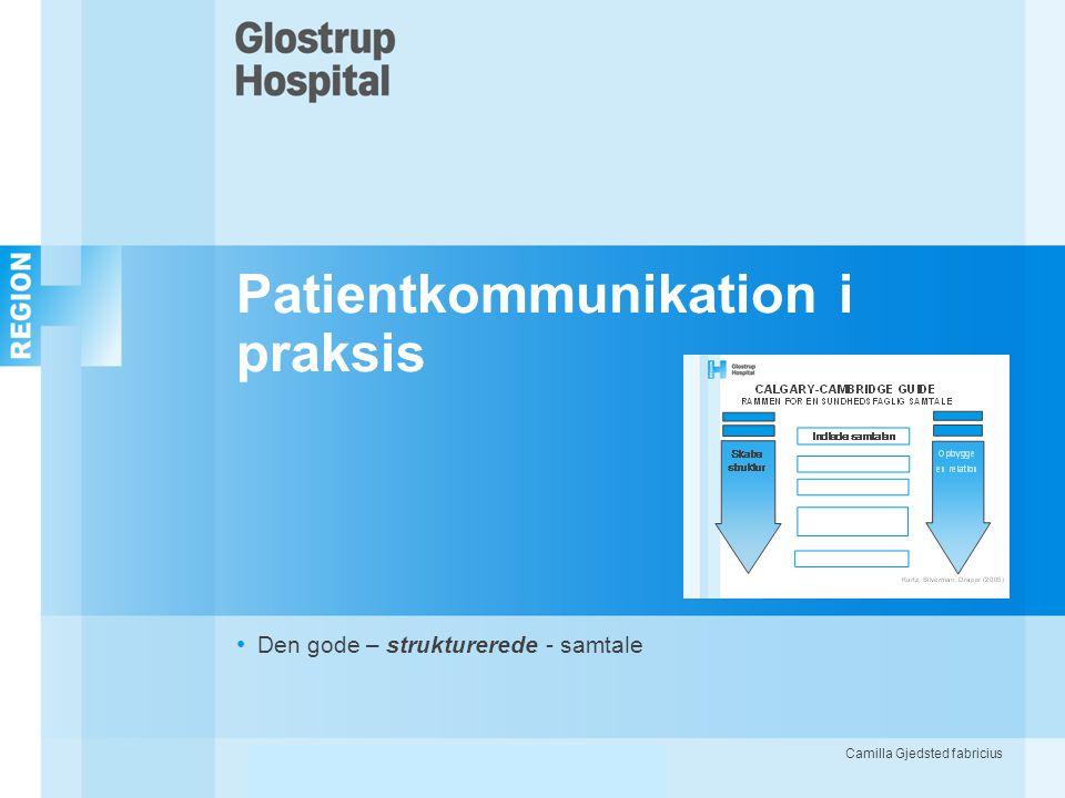 Patientkommunikation i praksis