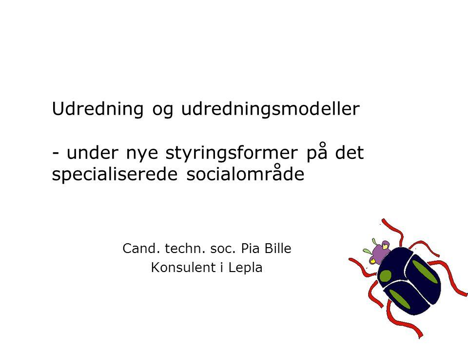 Cand. techn. soc. Pia Bille Konsulent i Lepla