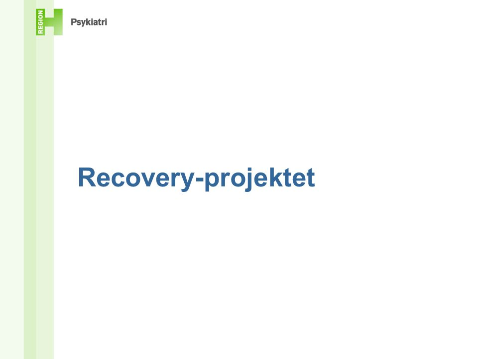 Recovery-projektet