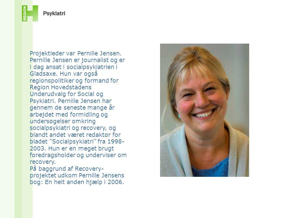 Projektleder var Pernille Jensen.