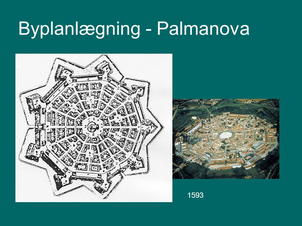 Byplanlægning - Palmanova