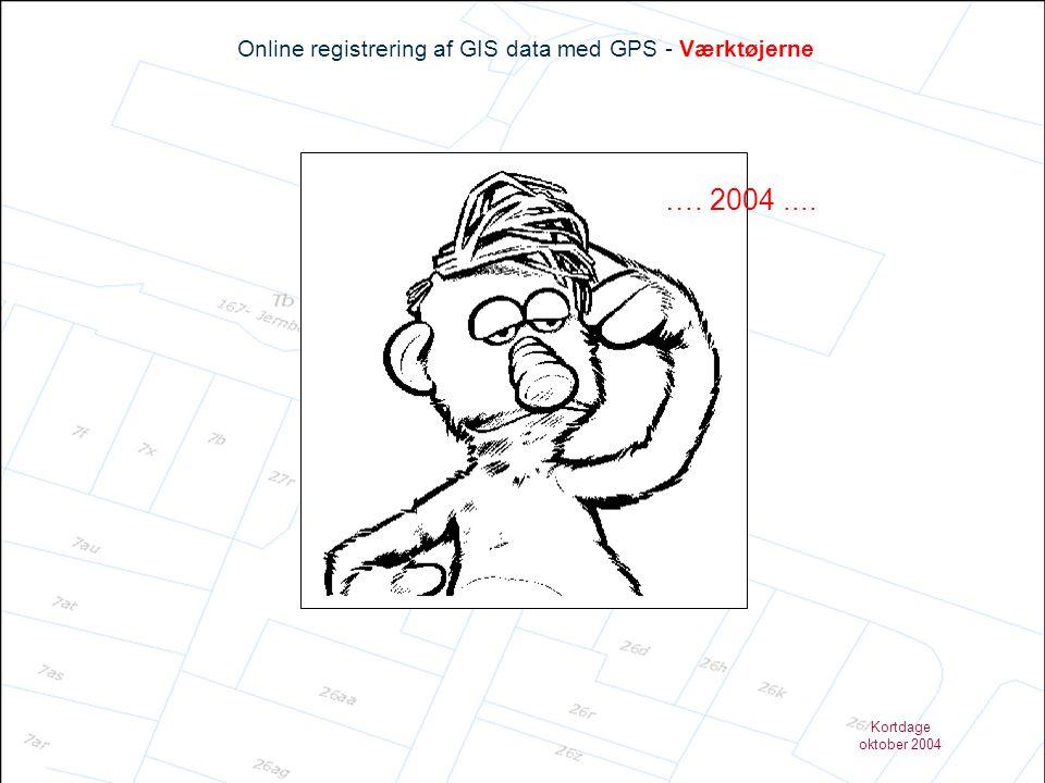 Online registrering af GIS data med GPS - Værktøjerne