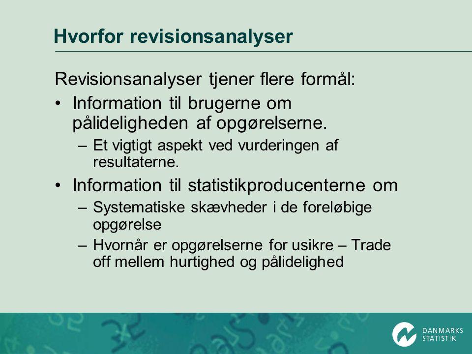 Hvorfor revisionsanalyser