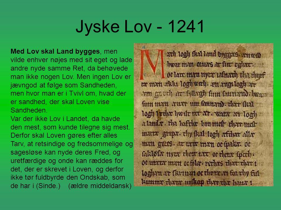 Jyske Lov - 1241