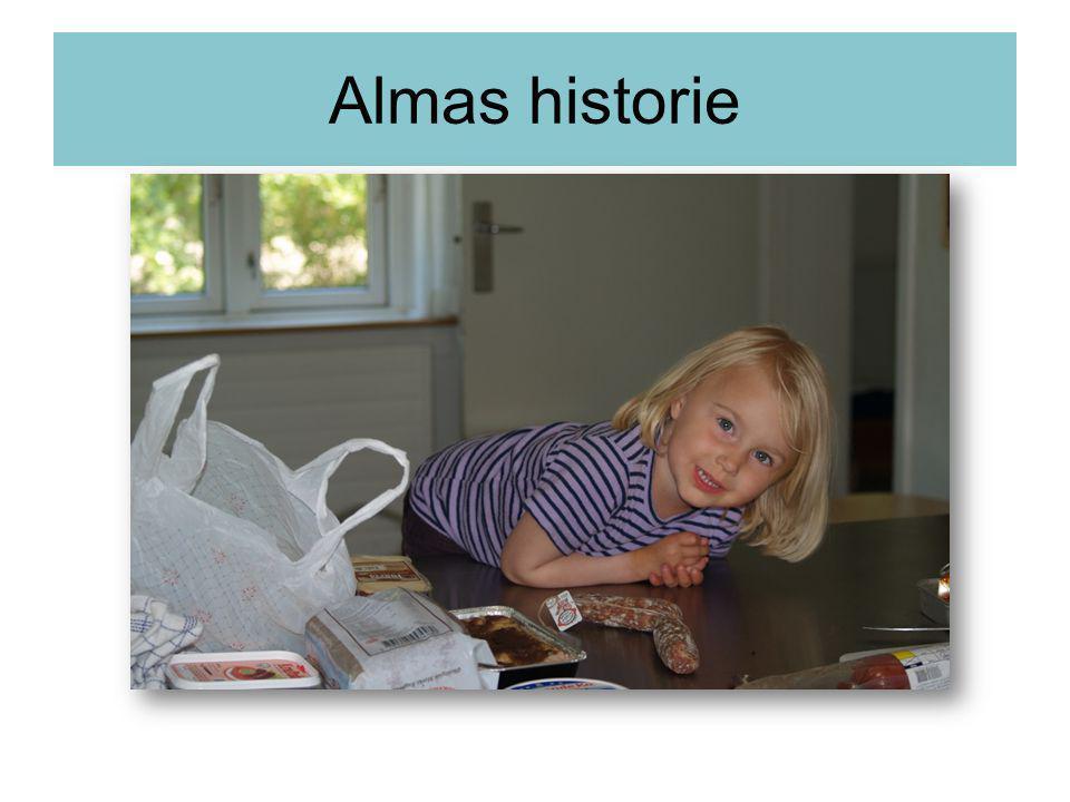 Almas historie