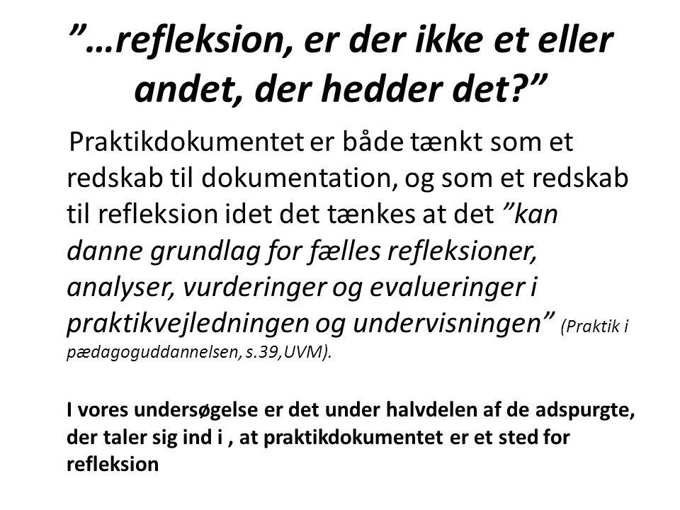 …refleksion, er der ikke et eller andet, der hedder det
