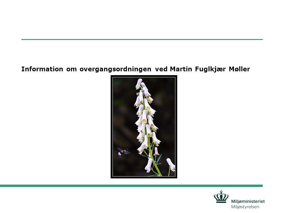 Information om overgangsordningen ved Martin Fuglkjær Møller