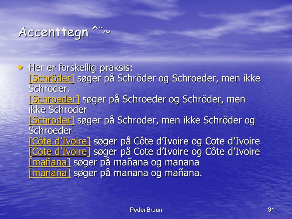 Accenttegn ^¨~