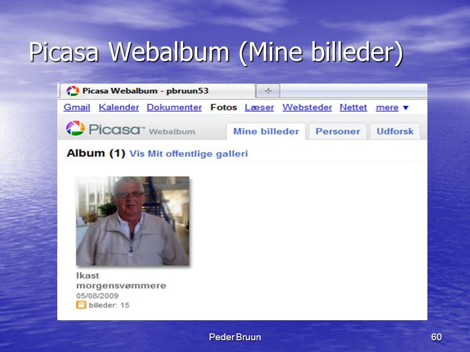 Picasa Webalbum (Mine billeder)
