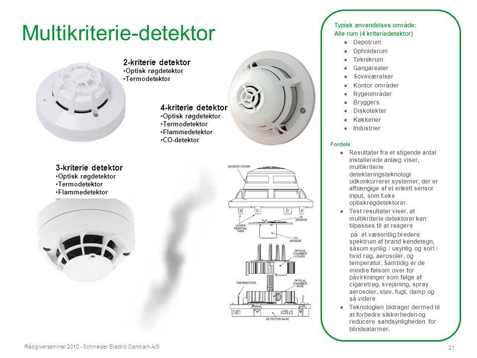 Multikriterie-detektor