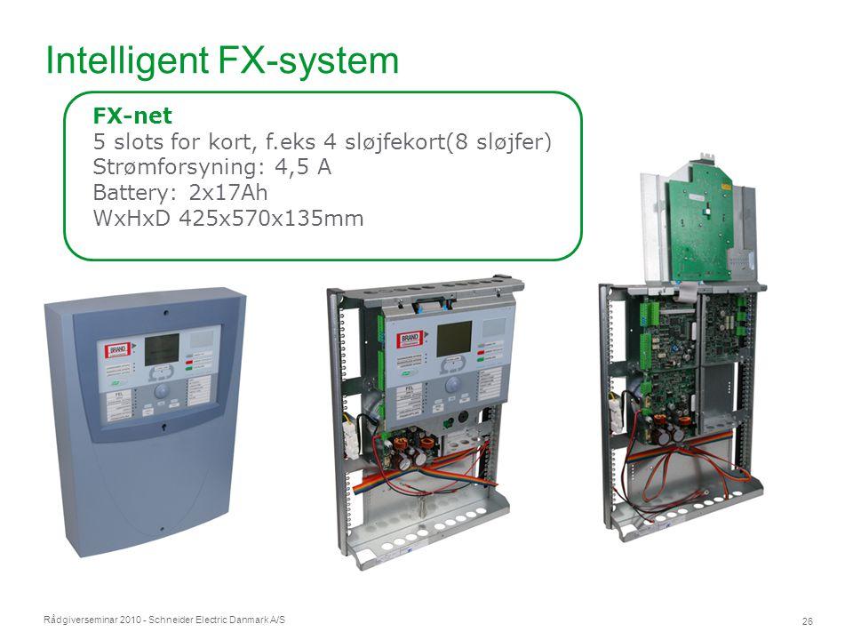 Intelligent FX-system