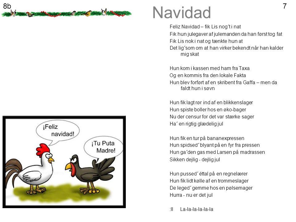 Navidad 8b 7 Feliz Navidad – fik Lis nog´t i nat