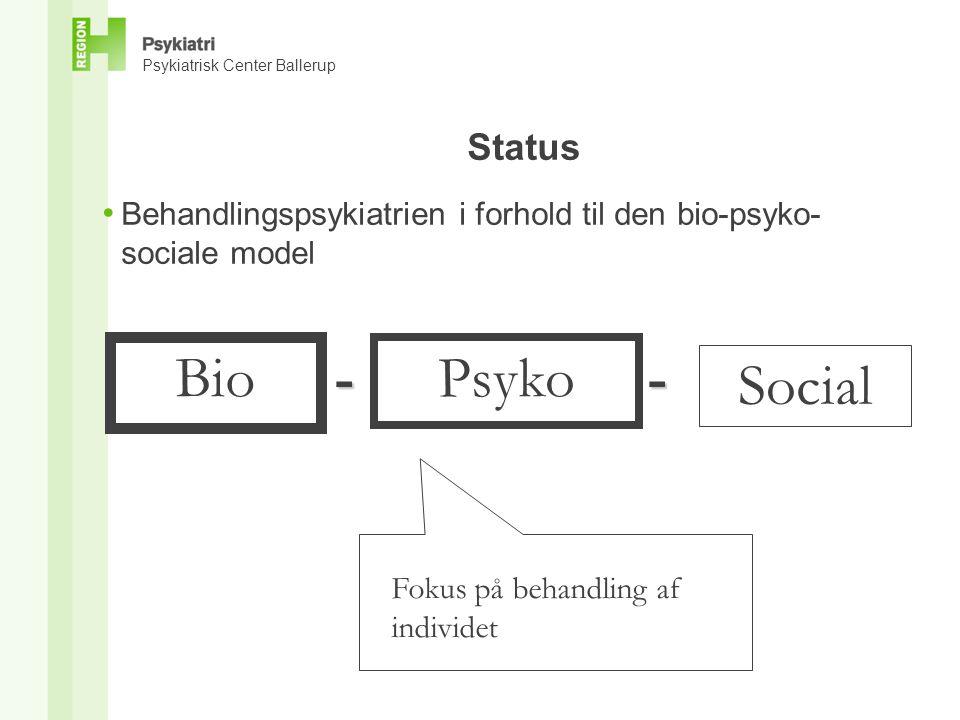 Bio - Psyko - Social Status