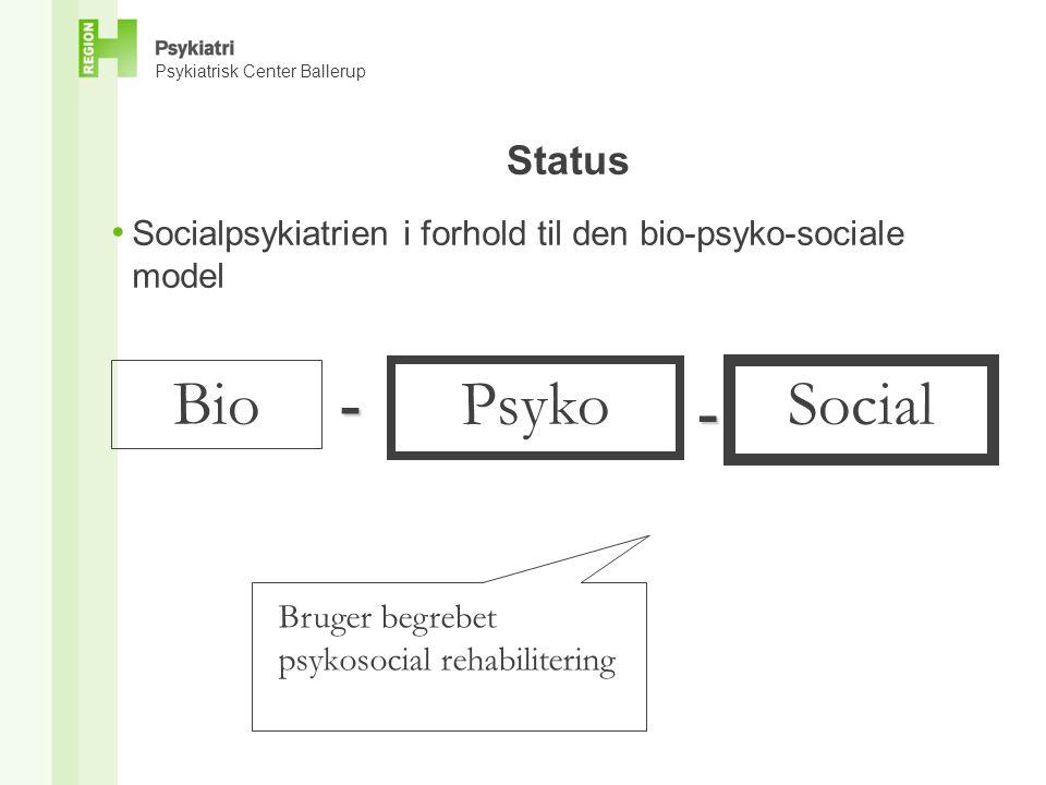 Bio - Psyko Social - Status