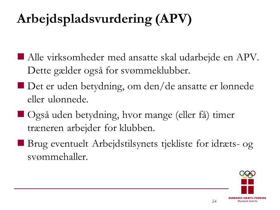 Arbejdspladsvurdering (APV)