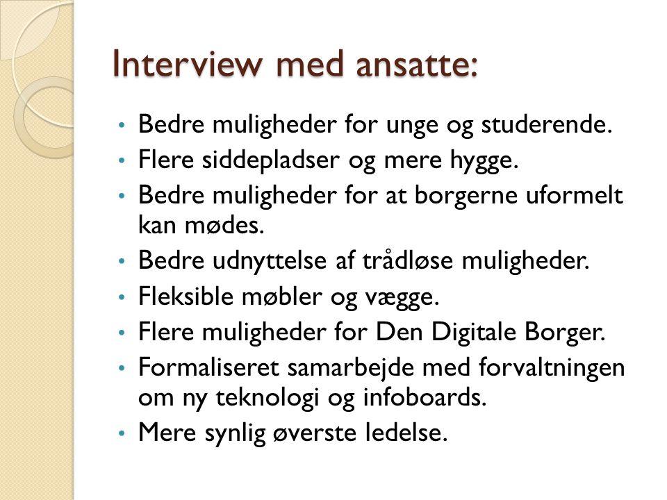 Interview med ansatte: