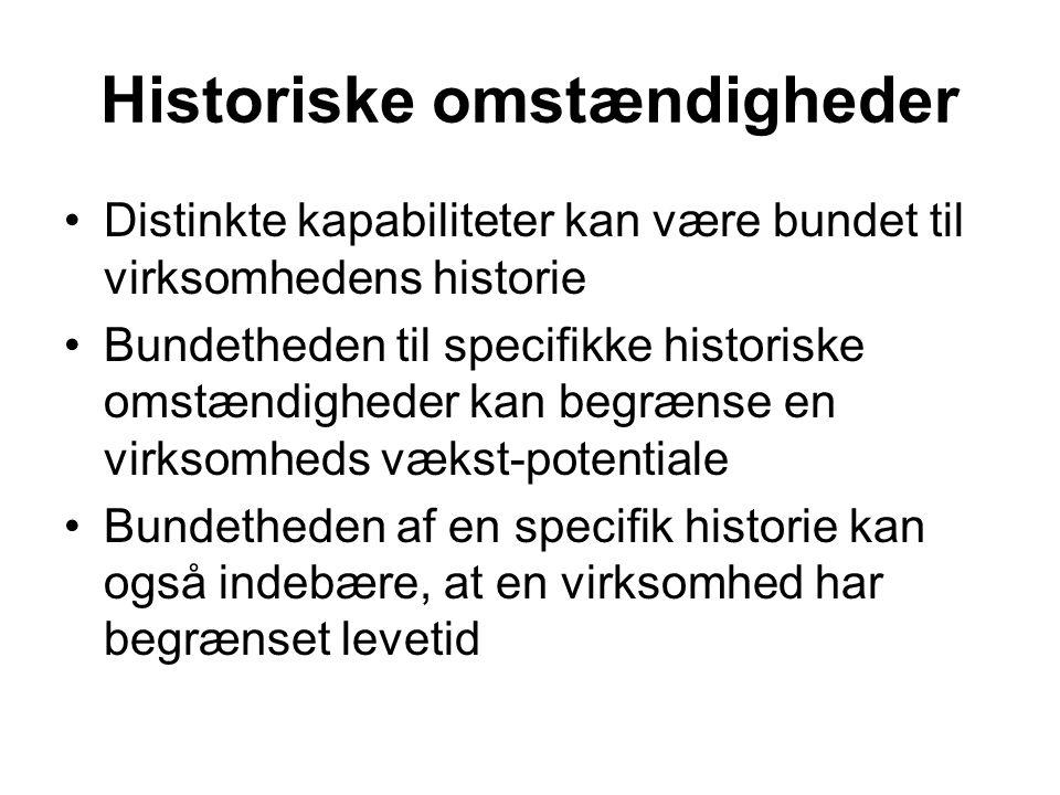 Historiske omstændigheder