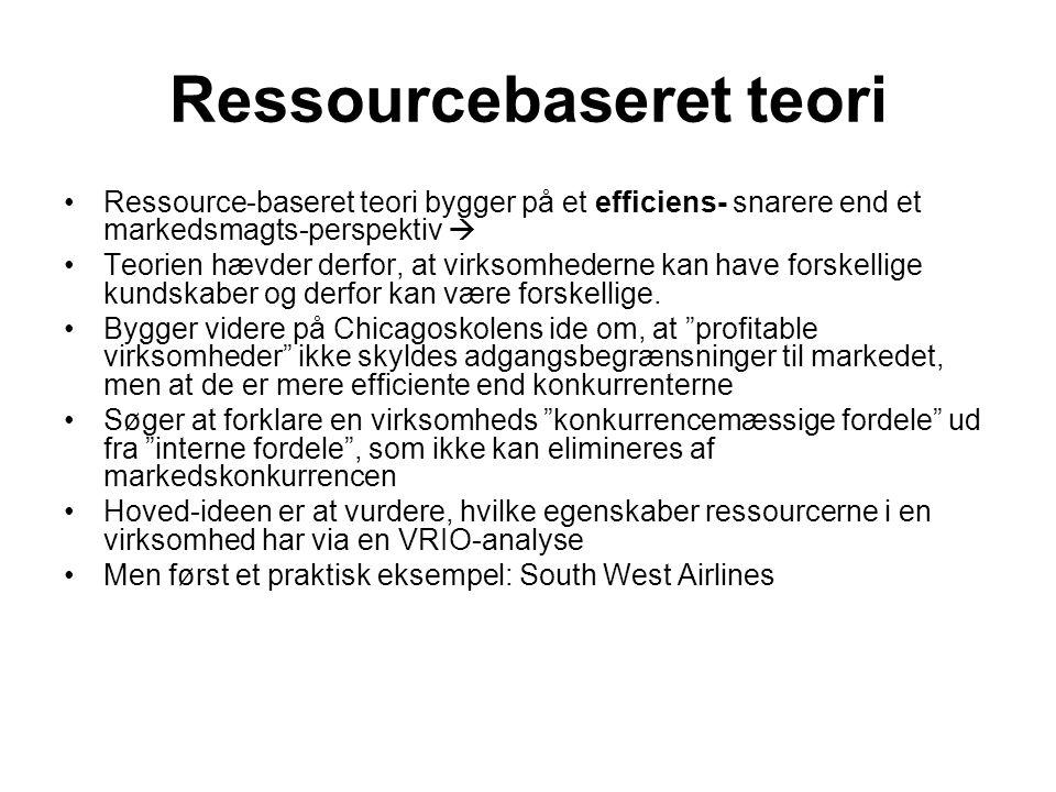 Ressourcebaseret teori