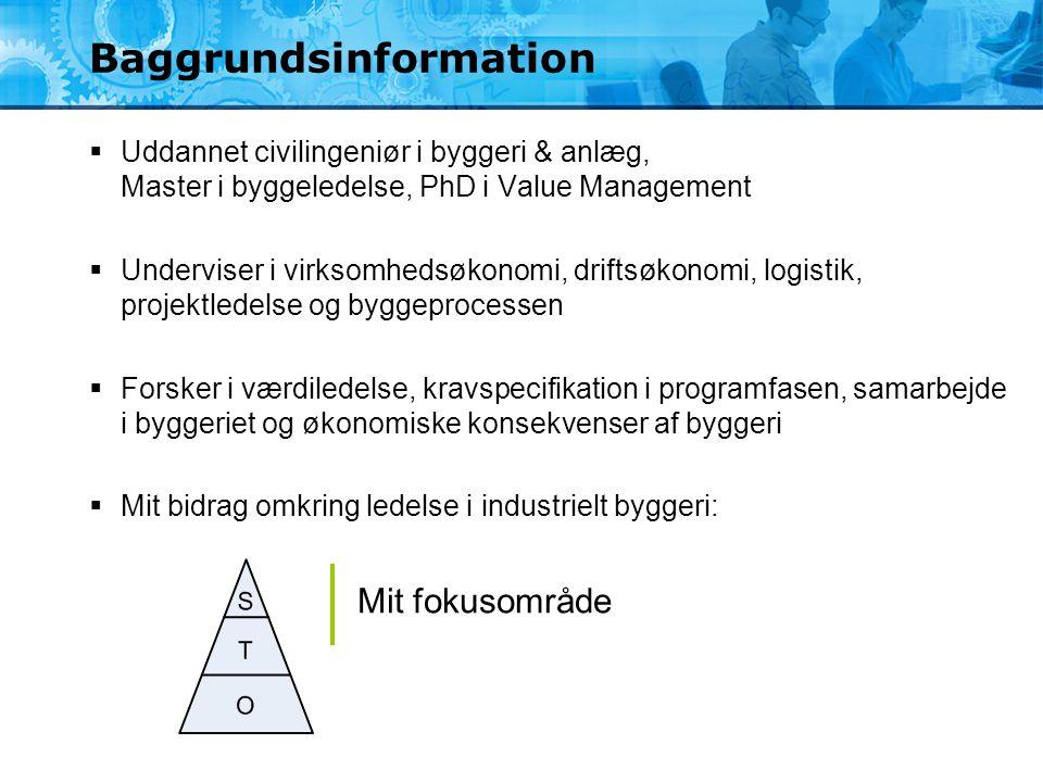 Baggrundsinformation