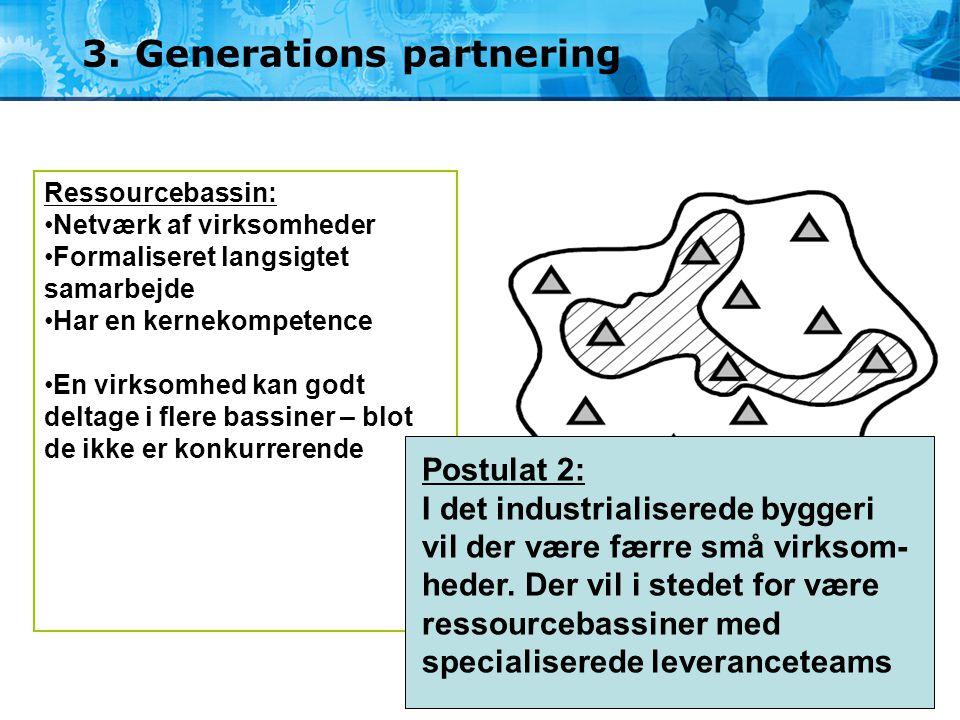 3. Generations partnering