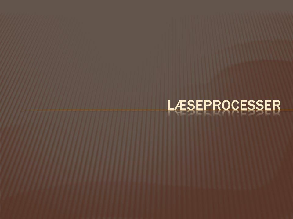 Læseprocesser