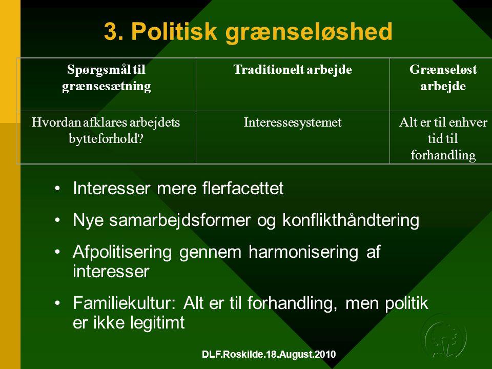 3. Politisk grænseløshed