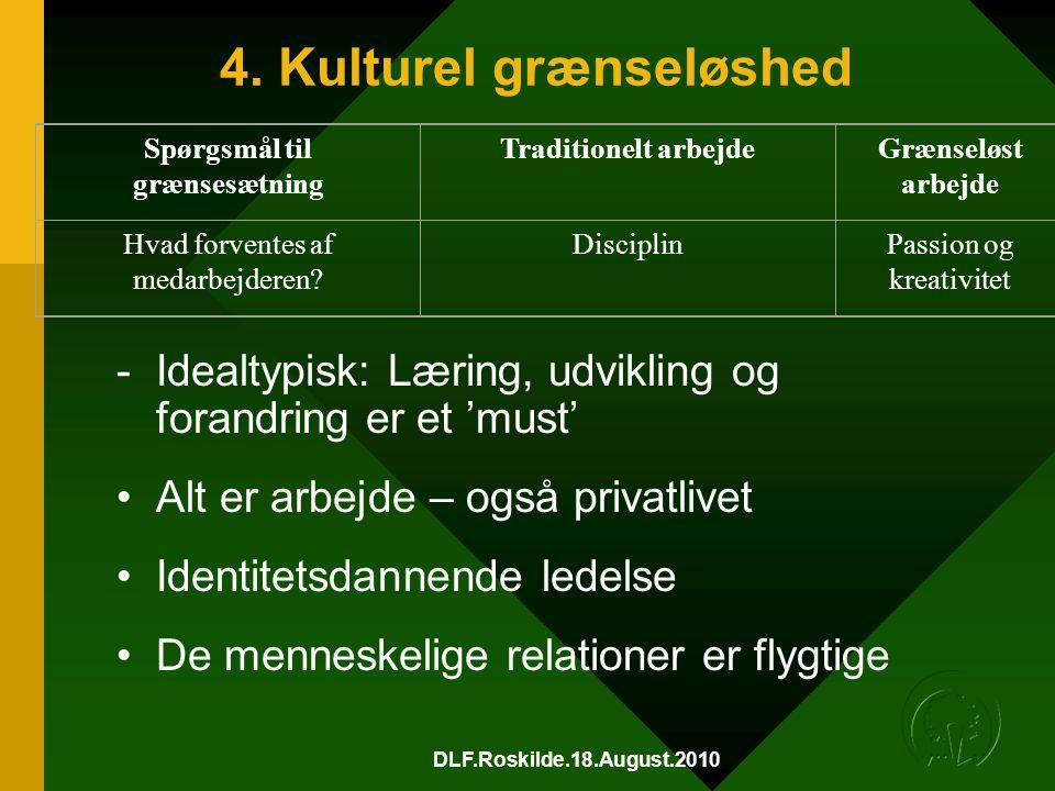 4. Kulturel grænseløshed