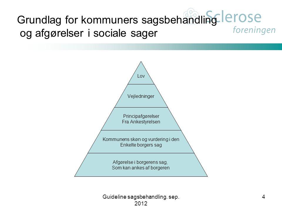 Grundlag for kommuners sagsbehandling og afgørelser i sociale sager