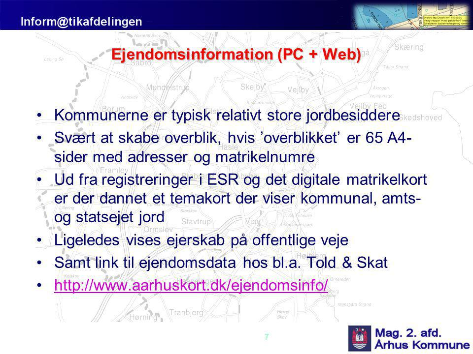 Ejendomsinformation (PC + Web)
