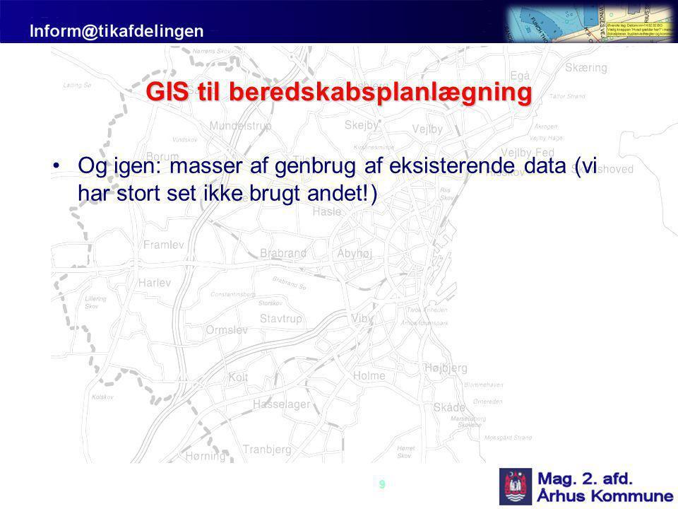 GIS til beredskabsplanlægning