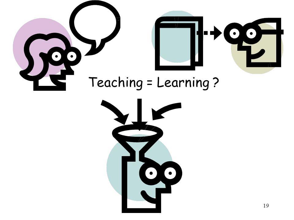Teaching = Learning