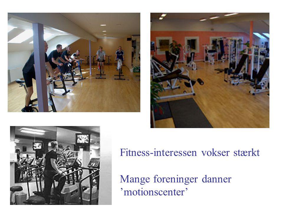 Fitness-interessen vokser stærkt