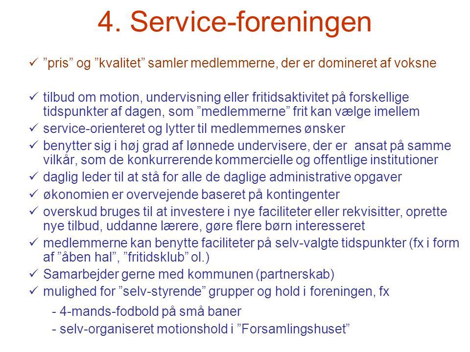 4. Service-foreningen - 4-mands-fodbold på små baner