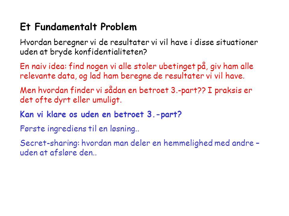Et Fundamentalt Problem