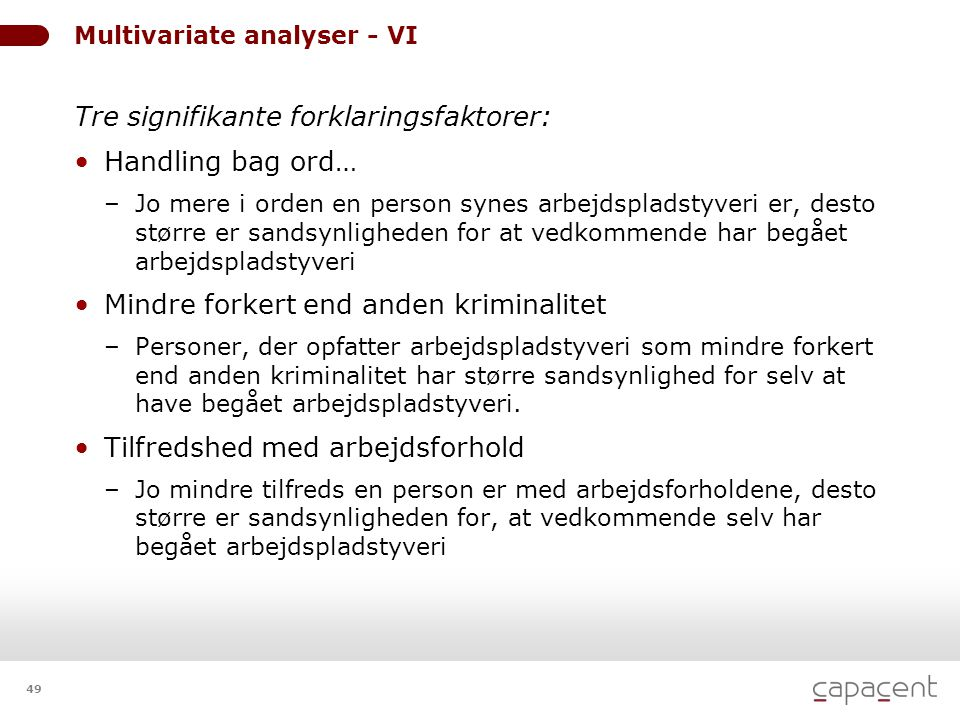 Multivariate analyser - VI