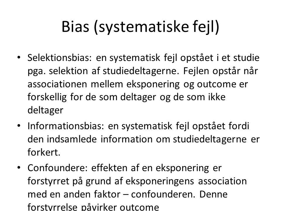 Bias (systematiske fejl)