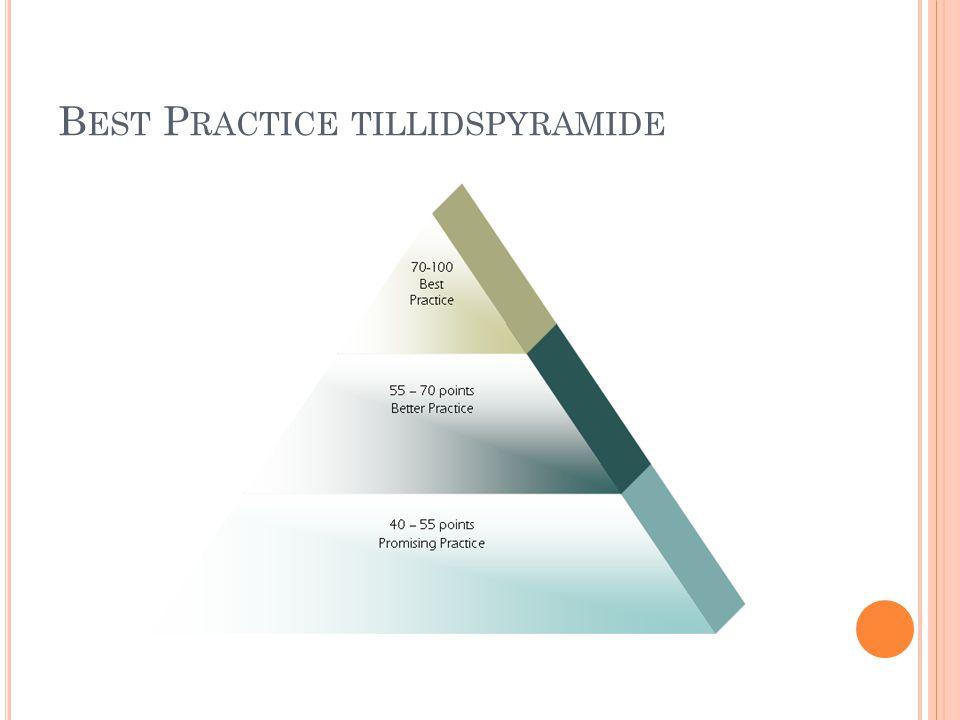 Best Practice tillidspyramide