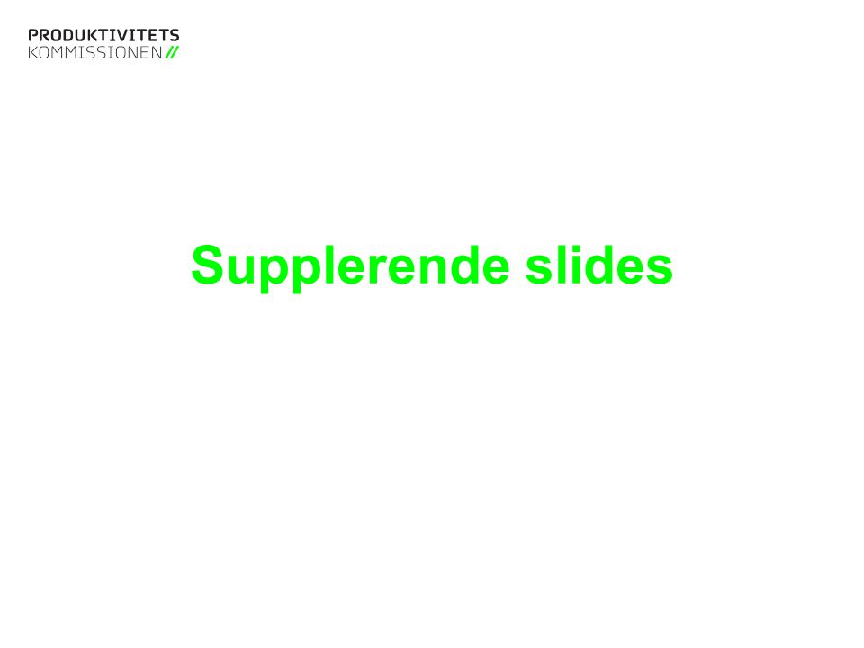 Supplerende slides