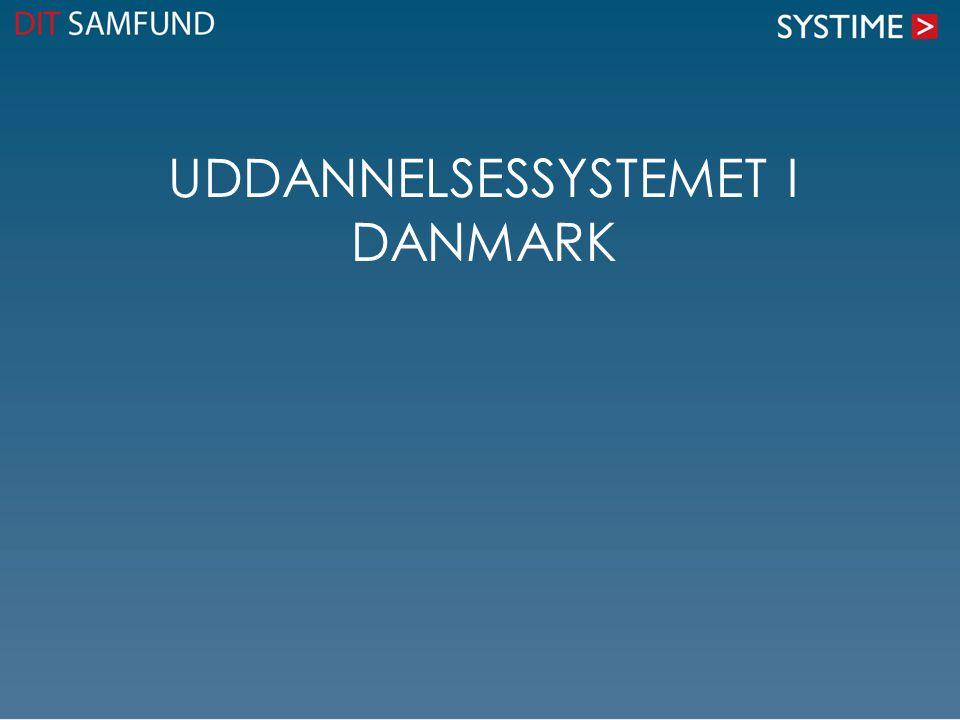 Uddannelsessystemet i Danmark
