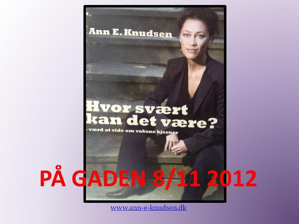 PÅ GADEN 8/11 2012 www.ann-e-knudsen.dk